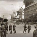 24 вересня 1941 року був практично повністю знищений київський Хрещатик